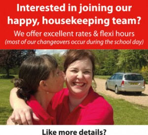 Join our house keeping team